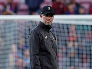 Liverpool manager Jurgen Klopp watches on ahead of their match against Barcelona on May 1, 2019
