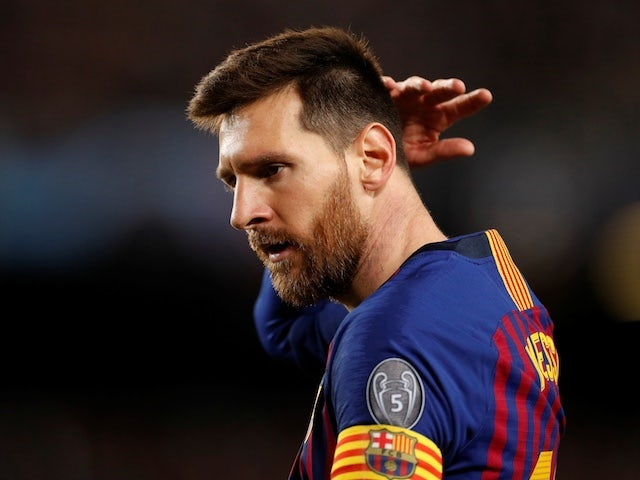 Messi 'ruled out of Barca's clash with Valencia'