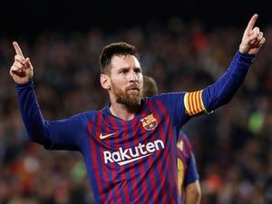 Messi back in full training after injury