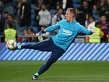 Barcelona goalkeeper Marc-Andre ter Stegen pictured before the Copa del Rey semi-final against Real Madrid in February 2019
