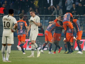 PSG slump to defeat at Montpellier