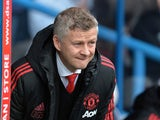 Ole Gunnar Solskjaer watches on during the Premier League game between Huddersfield Town and Manchester United on May 5, 2019