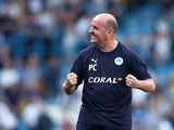 Paul Cook in charge of Wigan Athletic on April 19, 2019