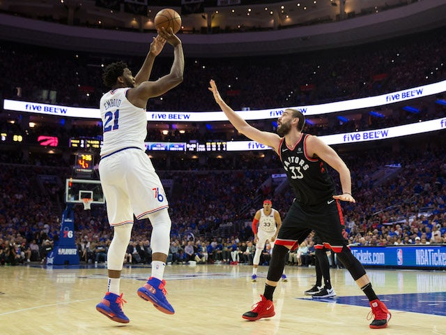 Result: Joel Embiid leads Philadelphia 76ers into semi-final advantage