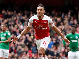 Man Utd want Aubameyang to replace Lukaku?