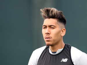 Roberto Firmino returns to Liverpool training