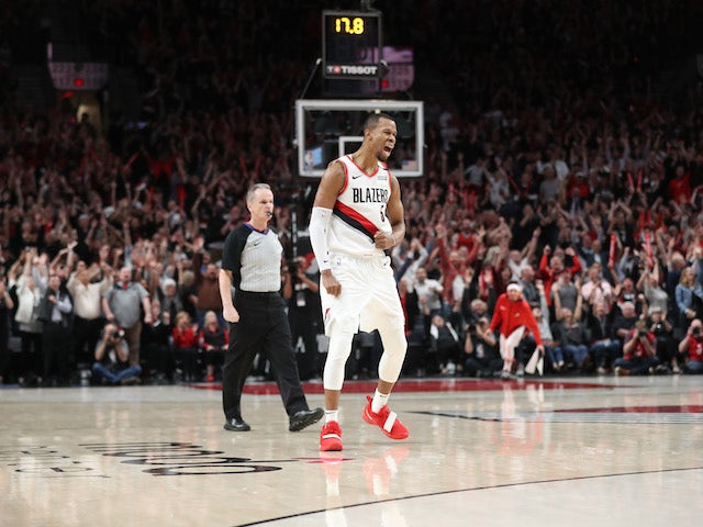 Result: Rodney Hood leads Portland Trail Blazers to victory in fourth overtime