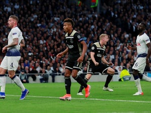 Van de Beek gives Ajax big advantage