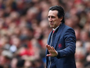 Arsenal manager Unai Emery pictured on May 5, 2019