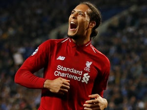 Virgil van Dijk wins Defender of the Season award