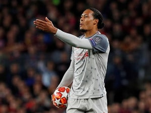 Virgil van Dijk: 'Liverpool still believe in Champions League turnaround'