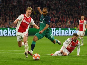 Live Commentary: Ajax 2-3 Spurs (3-3 on agg) - as it happened