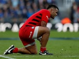 Billy Vunipola in action during the Champions Cup final on May 11, 2019
