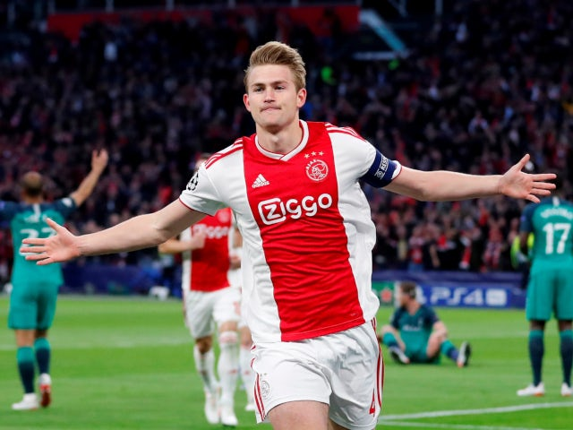 d07e7869e1c Matthijs de Ligt   No decision on future amid Man Utd speculation ...