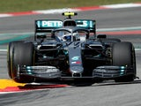 Valtteri Bottas in action during Spanish GP practice on May 10, 2019
