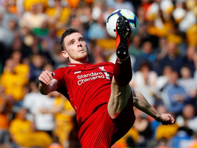 Andrew Robertson: 'Liverpool deserve trophies'