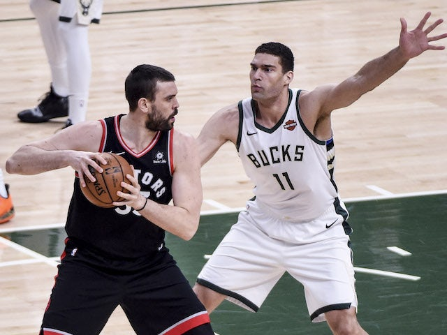 Result: Bucks stage late comeback against Raptors to take game one