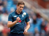 Chris Woakes in action for England on May 19, 2019