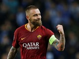 Daniele De Rossi in action for Roma on March 5, 2019