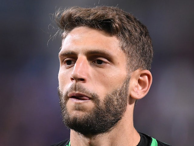 Domenico Berardi pictured in October 2018