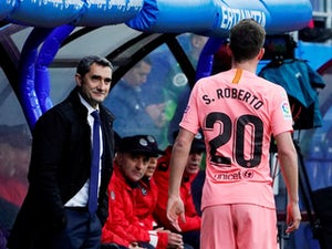 Valverde demands more from Barcelona after Eibar draw