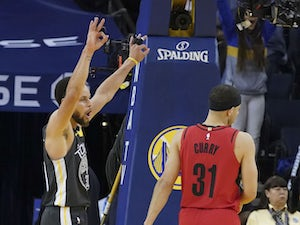 Warriors on course to defend title with Trail Blazers win