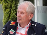 Helmut Marko pictured on April 26, 2019