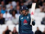 England's Joe Root celebrates a half century on May 19, 2019