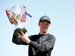 Speechless Swede Marcus Kinhult wins first European Tour title