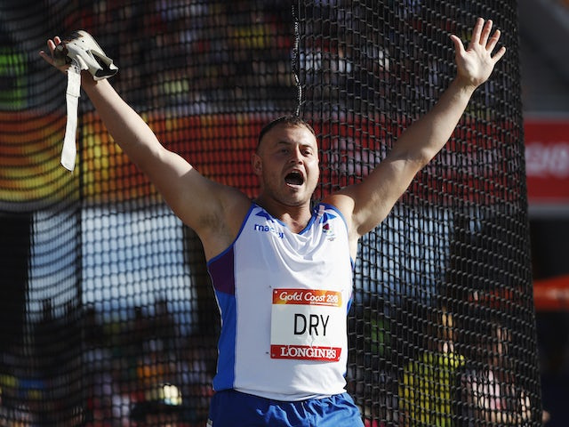Scottish hammer thrower Mark Dry provisionally suspended for doping offence