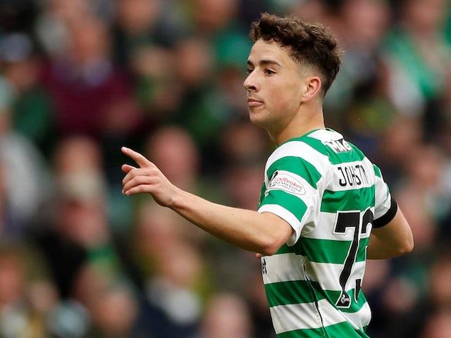 Result: Johnston brace sees Celtic past Hearts