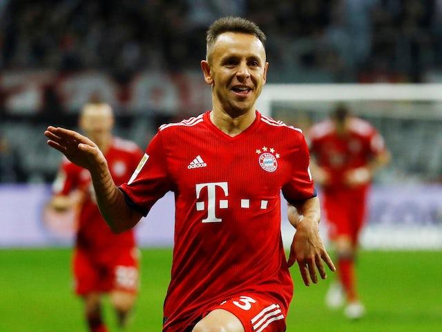 Rafinha confirms Bayern Munich exit
