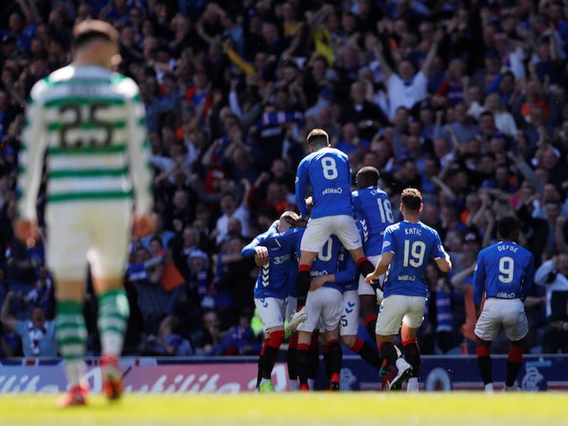 Result: Rangers ease to victory over Celtic to seal Ibrox Old Firm double