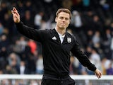 Fulham boss Scott Parker pictured on May 12, 2019