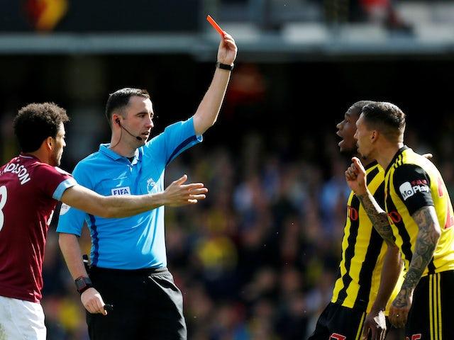 Watford hope Holebas can make final despite red