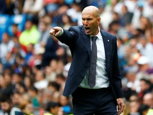 Real Madrid boss Zinedine Zidane pictured in May 2019