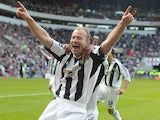 Alan Shearer pictured in 2006
