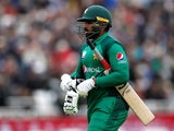 Asif Ali in action for Pakistan on May 17, 2019