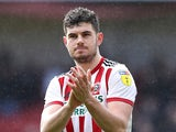 Sheffield United defender John Egan pictured in March 2019