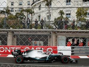 Monaco Grand Prix: Lewis Hamilton fastest in first practice