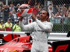 Hamilton jumped into Monaco pool with 'chemicals'
