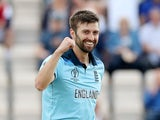 Mark Wood pictured for England on May 25, 2019