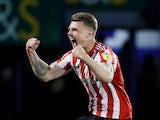 Sunderland midfielder Max Power celebrates in May 2019