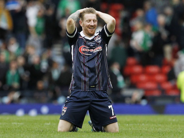 Michael Gardyne delighted with Ross County form