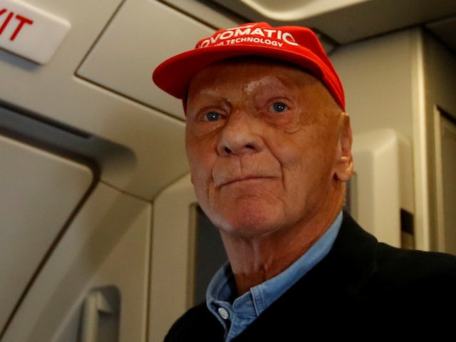 Lauda 'not suffering anymore' - Ecclestone
