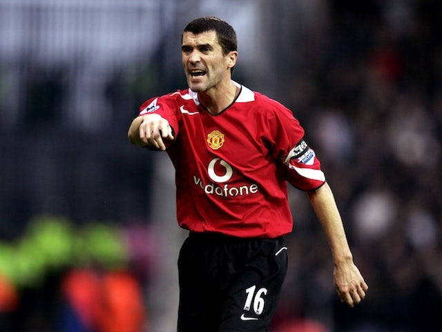 Roy Keane pictured in 2004