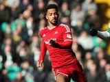 Shay Logan in action for Aberdeen in 2015