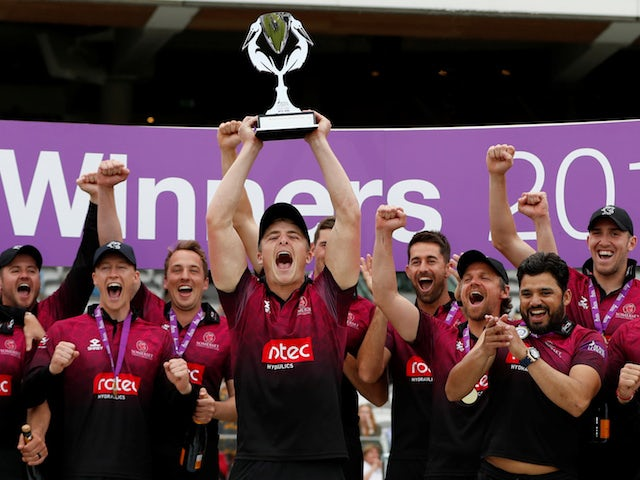 Somerset beat Hampshire to win Royal London One-Day Cup