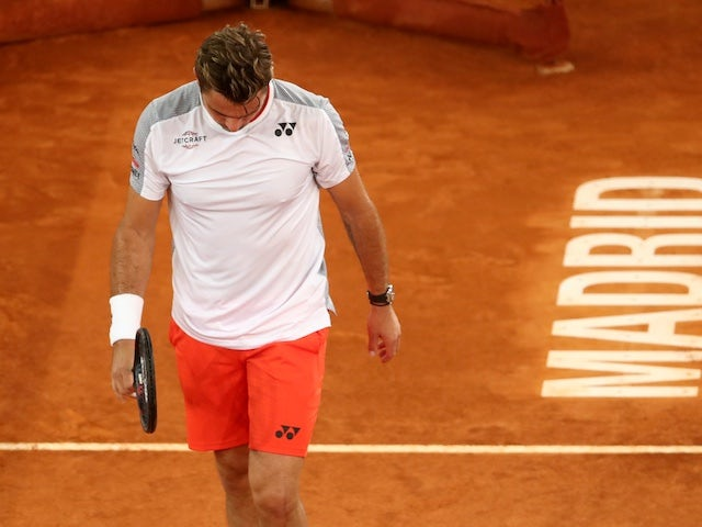 Result: Stanislas Wawrinka suffers shock defeat to Damir Dzumhur