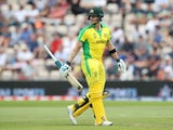 Steve Smith pictured in action for australia against England on May 25, 2019